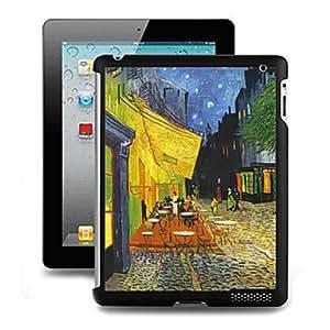 Conseguir Negro Modelo Especial Efecto 3D duro de la cubierta de la funda detrás para el iPad 2/3/4