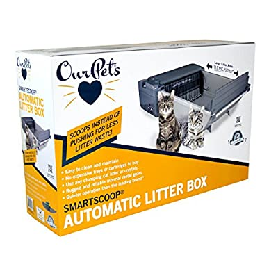 Our Pet's SmartScoop Automatic Cat Litter Box from Our Pet's