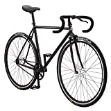 Pure Fix Premium Fixed Gear Single Speed Bicycle, 58cm/Large, Kennedy Gloss Black