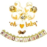EasyPartyTime Baby Shower Decorations ''OH BABY'' Strung...