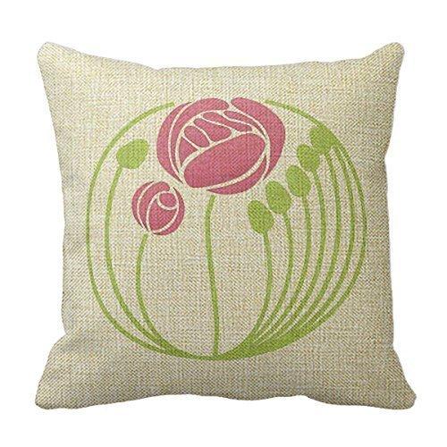 Shower Curtain Cotton Linen Square Decorative Throw Pillow Case Cushion Cover 18
