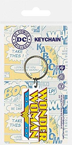 Cm 6 Porte clés Woman 4 1art1® Comics X Logo Dc Wonder 4avwqw6