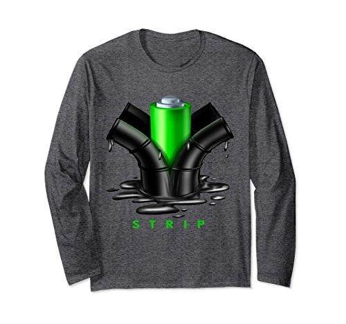 Unisex Funny Electric Energy Alternative Fuel T-Shirt Medium Dark Heather