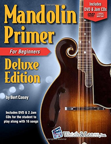 Mandolin Primer Book Beginners Deluxe product image