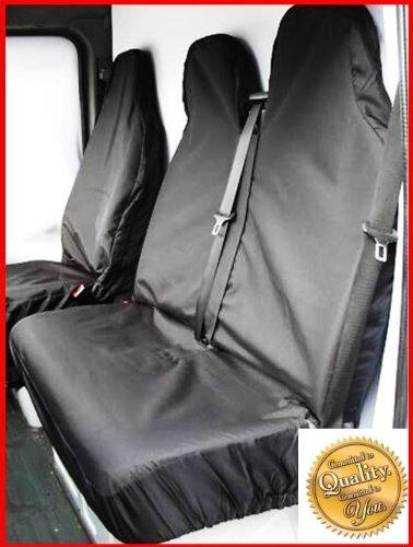 Nissan Cabstar 2009 onwards 2.5 DCI Heavy Duty Van Seat Covers / Protectors - Black SJM&SSM
