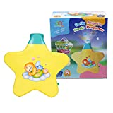 Playking Little Angel's Newest Magic Musical Projector Sleeping Baby Toy Early education Music lights Creative gift Baby Musical Bed Bell toy< Multicolor