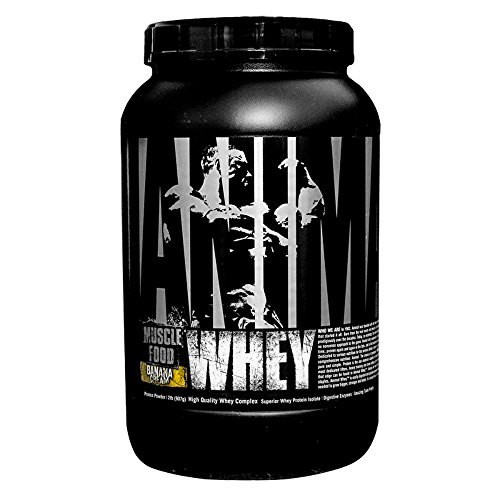 Universal Nutrition Animal Whey Isolate Loaded Whey Protein Powder Supplement, Banana Cream, 2 Pound