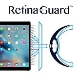 RetinaGuard Anti-blue Light Screen protector for iPad Pro 12.9' - SGS & Intertek Tested - Blocks Excessive Harmful Blue Light, Reduce Eye Fatigue and Eye Strain