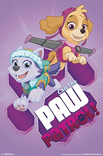 Trends International Paw Patrol Call Wall Poster