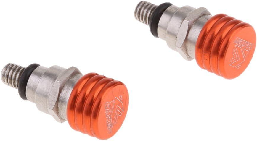 Shiwaki CNC X 0,7 Mm Orange Gabel Entl/üftungsventil F/ür KTM SX SXF SMR
