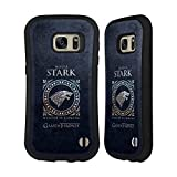 Official HBO Game of Thrones Stark Metallic Sigils Hybrid Case for Samsung Galaxy S7