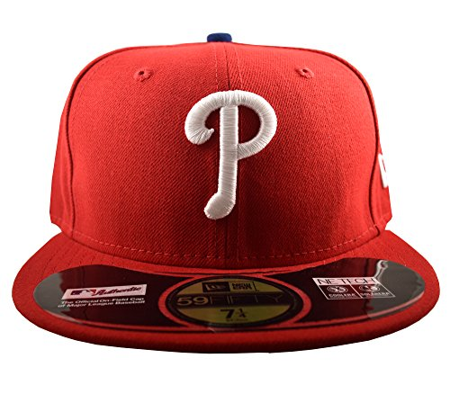 New Era 59FIFTY Philadelphia Phillies MLB 2017 Authentic Collection On-Field Game Fitted Hat – DiZiSports Store