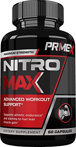 Nitric Oxide Activator (Prime X Nitro Max- Nitric Oxide Supplement - Premium Muscle Building Nitric Oxide Booster)