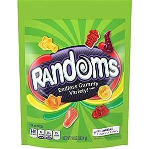 Randoms Gummy Stand Up Bag, 10 Ounce
