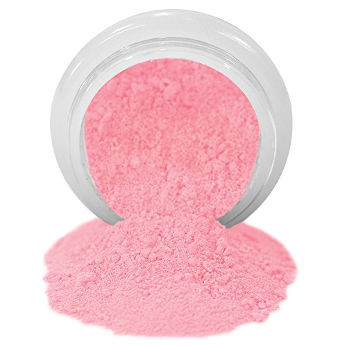 (ColorPops by First Impressions Molds Matte Pink 18 Edible Powder Food Color For Cake Decorating, Baking, and Gumpaste Flowers 10 gr/vol single jar)