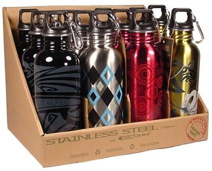 Amazon.com: SubZero Gator boca botella de agua de acero ...