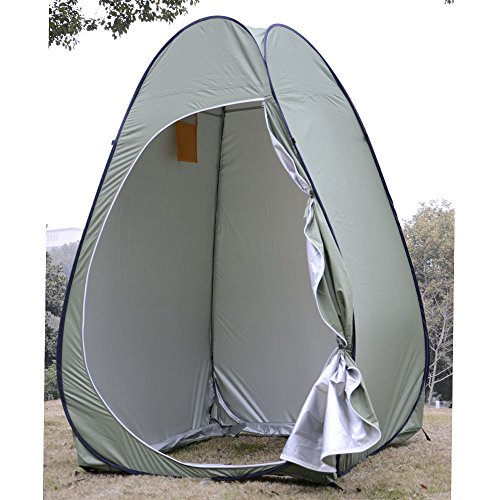 New Portable Pop up Fishing & Bathing Toilet Changing Tent Camping Room Green Us