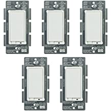 Jasco 45609 Z-Wave Wireless Lighting Control On/Off Switch (5-Pack)