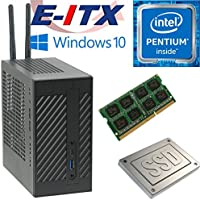Asrock DeskMini 110 Intel Pentium G4600 (Kaby Lake) Mini-STX System , 4GB DDR4, 960GB SSD, WiFi, Bluetooth, Window 10 Pro Installed & Configured by E-ITX