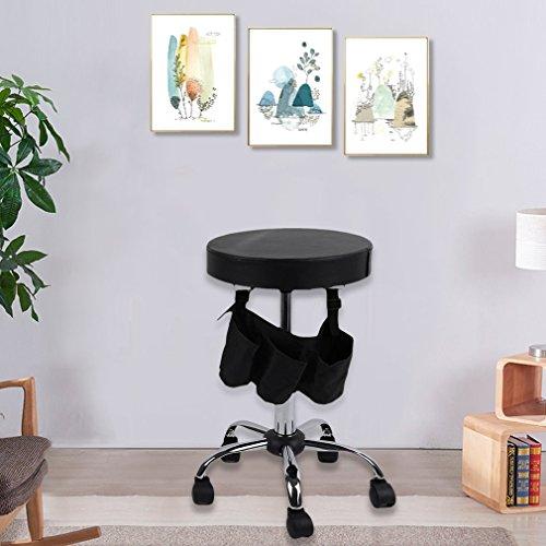 Beauty Salon Rolling Stool Tattoo Massage Facial Spa Adjustable Stool Chair by Graspwind (Image #5)