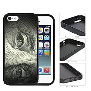 Benjamin Franklin 100 Dollar Bill Rubber Silicone TPU Cell Phone Case Apple iPhone 5 5s