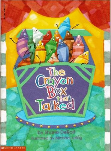 The Crayon Box That Talked (Tissue Crayons)