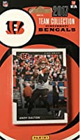 2017 Donruss Football Factory Cincinnati Bengals Team Set of 13 Cards: A.J. Green(#20), Geno Atkins(#58), Giovani Bernard(#74), Jeremy Hill(#82), Carlos Dunlap(#89), Brandon LaFell(#145), Boomer Esiason(#167), Tyler Eifert(#221), Andy Dalton(#239), Josh M