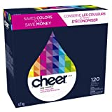 Cheer, Fresh Clean Scent Detergent Powder 120 Loads, 169 Ounce