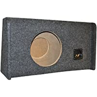 Ford F150 Extended Cab SuperCab Single 12 Subwoofer Enclosure Sub Box 2009-2014