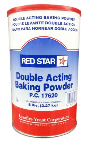 Red Star Double Acting Baking Powder, 5 Pound