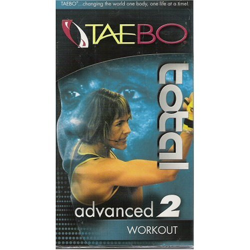 tae bo advanced vhs - 8