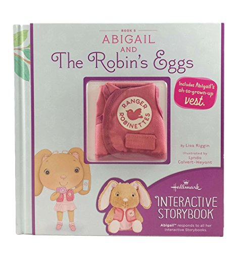 Hallmark StoryBuddy Interactive Book Abigail and The Robin's Eggs with Vest Book 5 (Vest Robin)