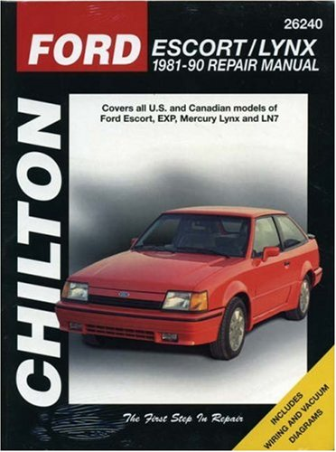 Ford Escort and Lynx, 1981-90 (Chilton's Total Car Care Repair Manual)