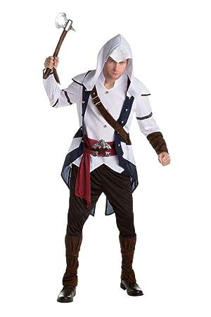 Disfraz Connor clásico Assassins creed adulto Única: Amazon ...