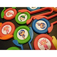 12 TEAM UMIZOOMI disk shooters for birthday party favors