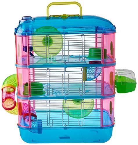 Arquivet Jaula roedores pequeños Gran Canaria – Casa para Hámsteres, Ratoncillos, Animales pequeños, plástico Resistente…
