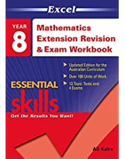 Excel Essential Skills: Mathematics Extension Revision & Exam Workbook Year 8