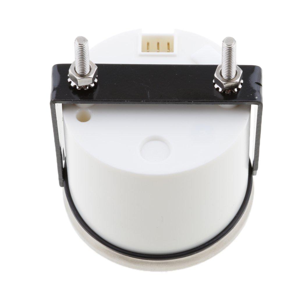 Homyl Wasserdichte Digitale Tankanzeige Marine Bootsteile /Öldruckanzeige 800-00214