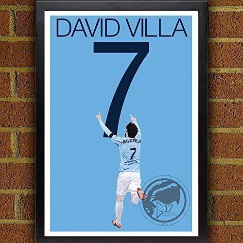 David Villa Poster - New York City FC Art (Villa York David City New)