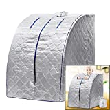Homdox Indoor Portable Steam Sauna Keep Fit Healthy Steam Sauna SPA At Home