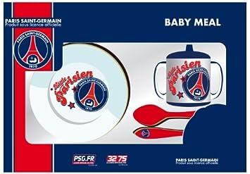 Set repas BEBE - PSG - assiette verre couverts - Puériculture vaisselle  Football - PARIS SAINT fb03117668d