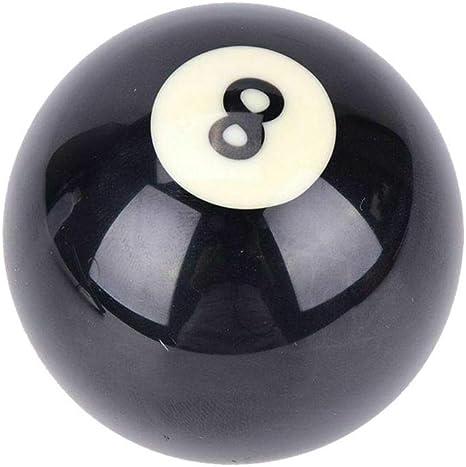 Lecimo Reemplazo De 8 Bolas De Billar Negras, Bola De Billar De ...