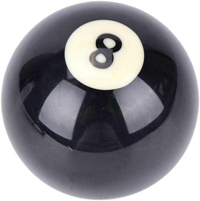 Lecimo Reemplazo De 8 Bolas De Billar Negras, Bola De Billar De Mesa De Billar 8 Reemplazos Tamaño Regular Estándar De 8 Bolas, 5,25 Cm: Amazon.es: Deportes y aire libre