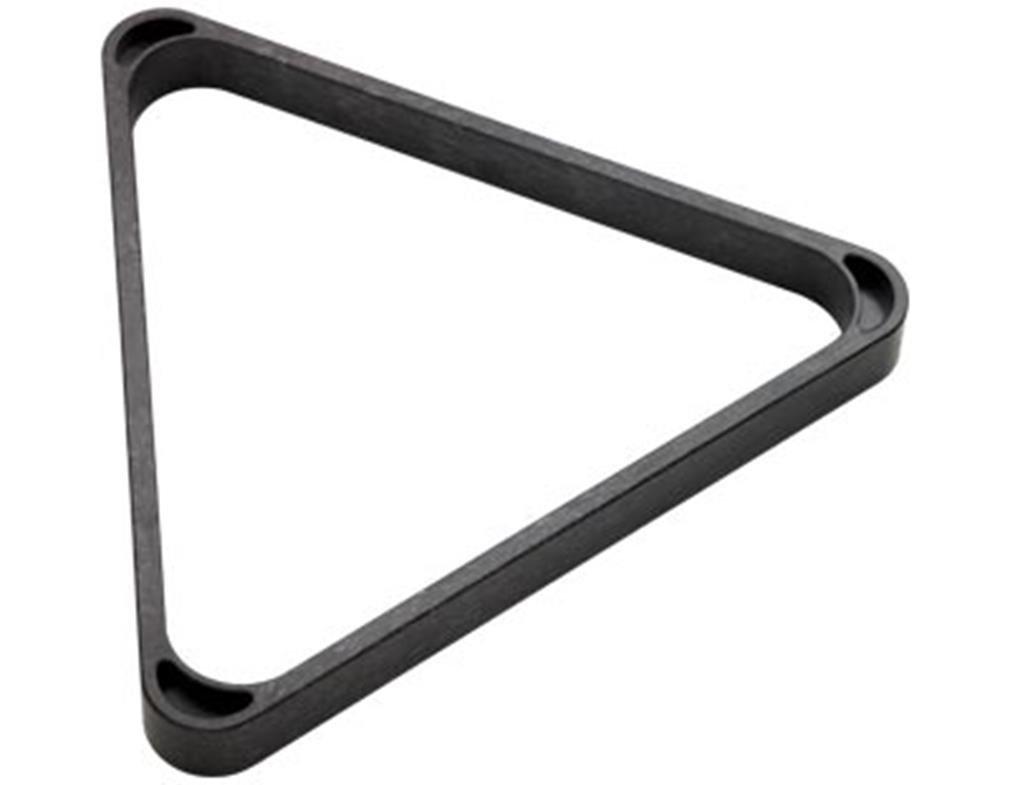 CueStix International Heavy Duty Plastic 8-Ball Triangle Rack