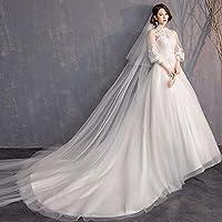 Vestido de Novia Vestido de Falda Vestido de Novia Francés Retro ...