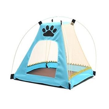 Zqx.. tienda de campaña para mascotas, verano, perro, gato, camping