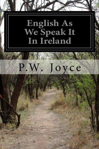 (English As We Speak It In Ireland)