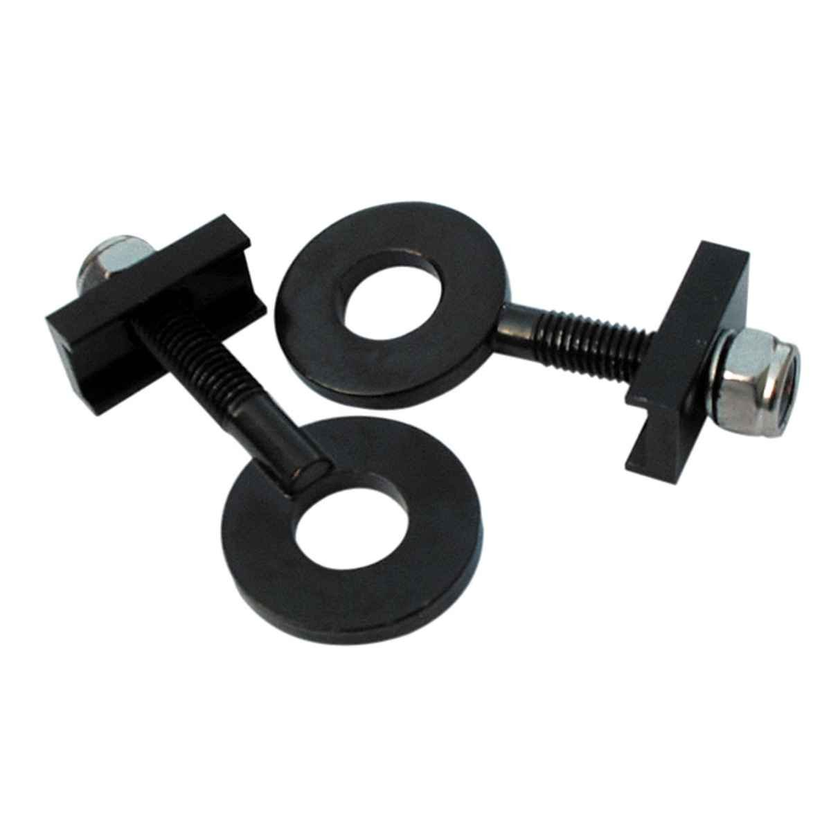 Gusset Disco Steel axle tensioner, 10mm - Black pr