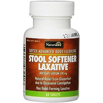Amazon Com Naturade Stool Softener Softex Laxative