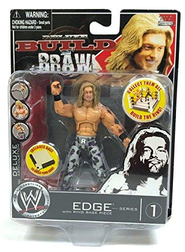 WWE Wrestling Deluxe Build N' Brawl Edge Series 1 Action Figure